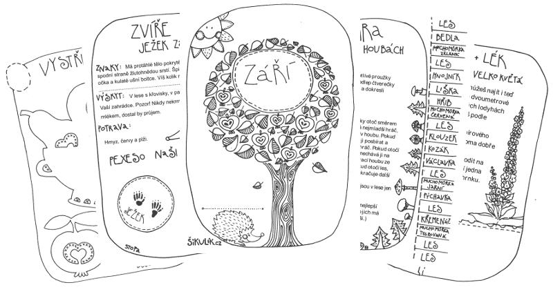 Uč se v lese – Září