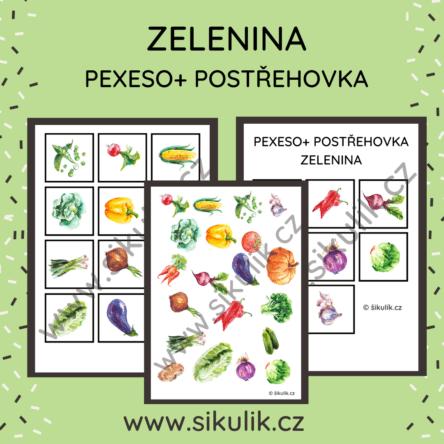 Pexeso Zelenina