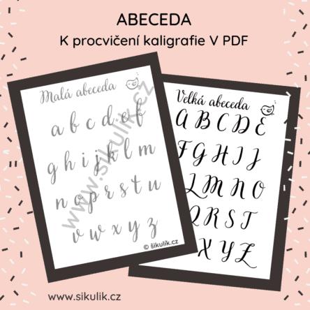 Kaligrafie abeceda